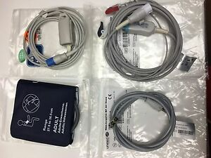Set Of Cables Oem For Viridia Bw Viridia 24c Phillips M4 Others new