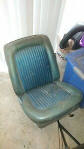 Oem 1968 Ford Mustang Coupe Front Bucket Seats