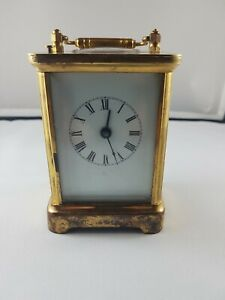 Waterbury Carriage Clock Repeater Very Nice Good Condition