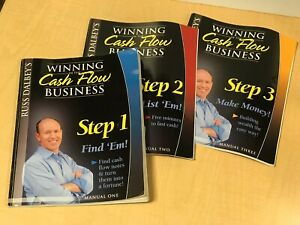 Russ Dalbeys Winning In The Cash Flow Business Manual 1 2 And 3 Free Ship 118