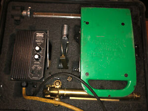 Mathey Dearman Magnacut Xm Cutting beveling Tool With Torch And Case Nice