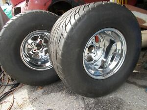 15 X 15 Cragar Wheels Rims Plus Mickey Thompson Sportman R S 31x18r15lt Hot Rod