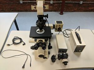 Nikon Diaphot Inverted Phase Contrast Microscope