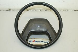 1987 1990 Ford Truck 15 Steering Wheel With Button F150 F250 F350 No Cruise