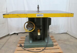 Whitney 589 Largest Single Spindle Shaper Made 1 1 4 Spindle Flat Belt Drive