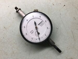 Mitutoyo Dial Indicator no 2803 10 0001 Made In Usa Machinist Tool W Stand