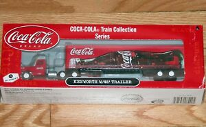 ATHEARN 8220 COCA COLA TRAIN COLLECTION SERIES KENWORTH WITH 45' TRAILER # 1