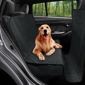 Suv Truck Car Dog Pet Waterproof Back Seat Cover Quilted Padded Extra Coverage