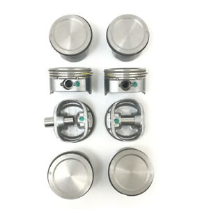 New Gm Oem set Of 8 5 3l Lm7 Standard Size Pistons W rings Floating Pins