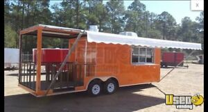 2019 8 5 X 24 Food Concession Trailer With Porch For Sale In Georgia