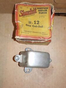 Nors 20s 30s Chevrolet Chrysler Pontiac Dodge Plymouth Crosley Generator Cut Out