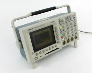 Tektronix Tds 3014 Four Channel Color Digital Phosphor Oscilloscope W Modules