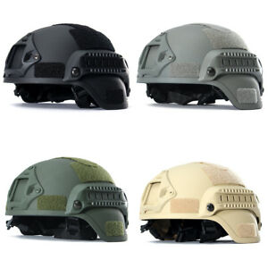 MICH2000 Outdoor Airsoft Military Tactical Combat Riding Hunting Helmet 2018 NEW