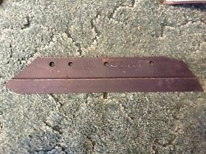 1980954c2 A New 16 Inch 4 Hole Rh Plow Share For An Ih Super Chief Plow Bottom