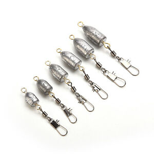 Drilled Fishing Lead Weights Sinkers Leader Sea Fishing Lead Mould Mold Rv