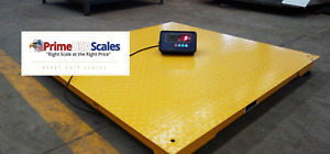 5 Year Warranty 5500 Lb X 1 Lb 40 x40 Floor Scale Pallet Scale With Indicator