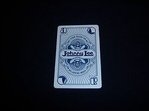 1981 vintage JOHNNY LEE single playing card rare RECORD promo COUNTRY MUSIC $8.00