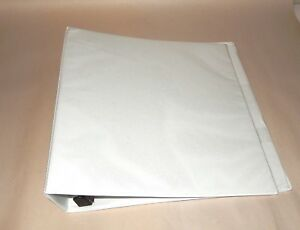 Avery Heavy duty Nonstick View Binder 1 1 2 One Touch Slant Rings White 05404
