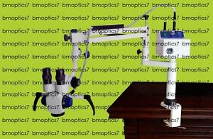 3 Step Portable Ent Microscope Manual Fine Focusing Excellent Quality