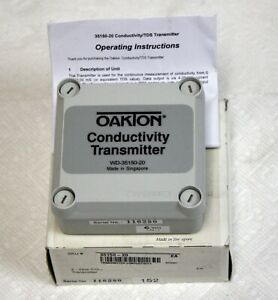 New Oakton Wd 35150 20 2 Wire Conductivity Transmitter Without Display 100 Off