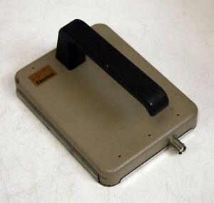 Eberline Hp 100b Gas Proportional Alpha Beta Probe Gm Geiger Counter Radiation