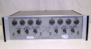 Tested Krohn hite 3323 Dual Channel Variable 4 pole Filter 0 01hz To 99 9khz