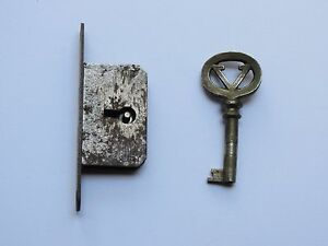 Antique Rare Victor Victrola Skeleton Key And Lock Working