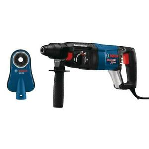 Bosch 8 Amp Corded 1 In Sds plus Variable Speed Rotary Hammer With Dust Shroud