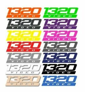 1320 Video 6 5 Street Racing Vinyl Decal Sticker Performance Chevy Ford Dodge