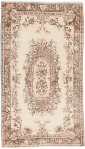 Hand Knotted Turkish 3 11 X 6 11 Anatolian Vintage Wool Rug Discounted