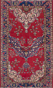 Hand Knotted Turkish 3 11 X 6 6 Anadol Vintage Wool Rug Discounted