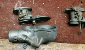 Simmons Carburetor Body For Model A Ford Plus A Tillotson F1b Carb Top