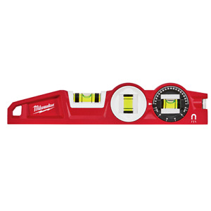 Milwaukee 10 Die Cast Torpedo Level With 360 Degree Locking Vial 48 22 5210