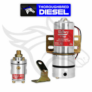 Mallory Model 140 Fuel Pump With Non bypass Regulator 29209