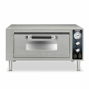 Single Deck Pizza Oven 120v Waring Commercial Wpo500
