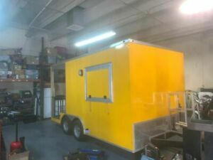 New 2018 8 5 X 16 Food Concession Trailer With Porch For Sale In Florida