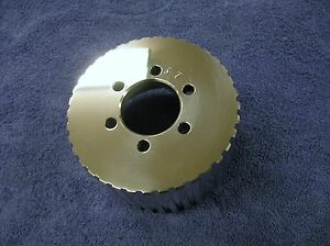 New 1 2 Pitch 37 Tooth Blower Supercharger Pulley Altered Gasser Chevy 671 471
