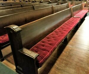 Church Pews Solid Oak 100 Years Old