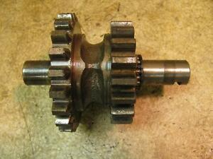 Allis Chalmers C B Tractor Ac Reverse Idler Gear Shaft And Bearings Transmission
