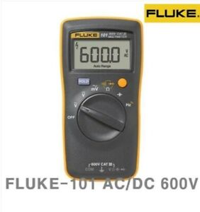 Sale Fluke 101 Digital Multi Meter Dmm Electric Tester Ac dc Pocket Size_ag
