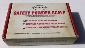 LEE PRECISION SAFETY MAGNETIC POWDER SCALE 100 GRAIN CAPACITY NEW