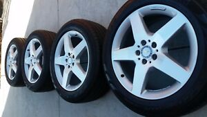 19 mercedes Amg Ml class Oem Factory Wheels Rims Tires Package 85277 18 20