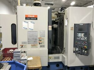 Mazak Fh 4800 Cnc 12 Pallet 400mm Horizontal Machining Center