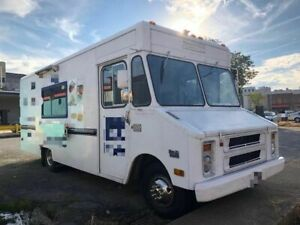 Chevrolet Step Van Kitchen Food Truck With Ansul Pro Fire Suppression System For