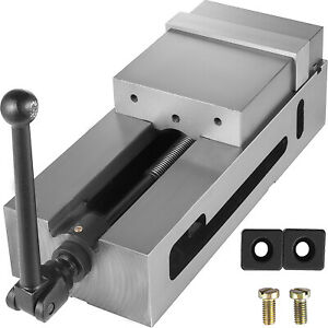 6 3 Cnc Vise Ductile Iron Clamping Fixed Jaw Horizontal High Accuracy Pro