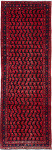 Hand Knotted Persian Carpet 3 4 X 9 11 Persian Vintage Traditional Wool Rug