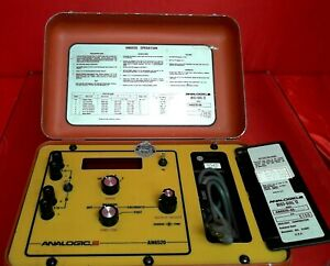 Analogic An6520 8a 110 Portable Thermocouple Instrument Calibrator