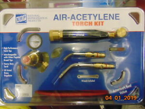 National Refrigeration Products Air Acetylene Torch Kit