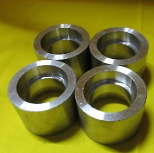 Lot Of 4 Asp 1 3 4 Stainless Steel Weld Pipe Coupling Usa Fittings