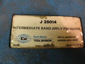 Kent Moore J25014 Intermediate Band Apply Pin Gauge Tool Set Transmission Gm